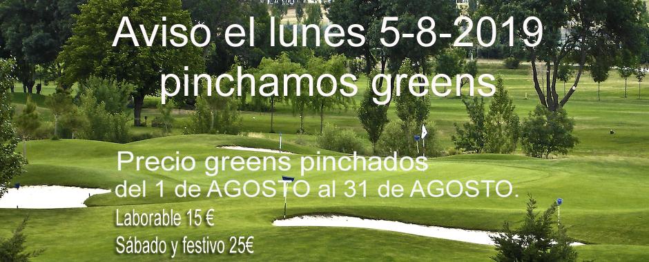 PINCHADO DE GREENS